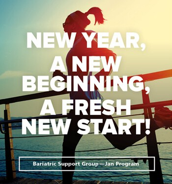 January Support Group 2018 - A New Beginning, A Fresh Start