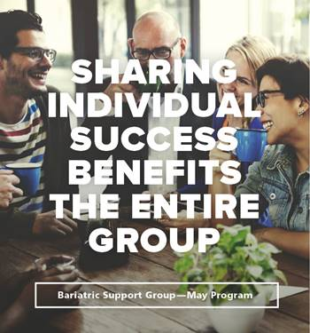 mercy bariatrics may 2018 support group is focused on participants sharing their success after gastric sleeve surgery.