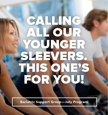 july support group 2018 is for young gastric sleeve surgery patients